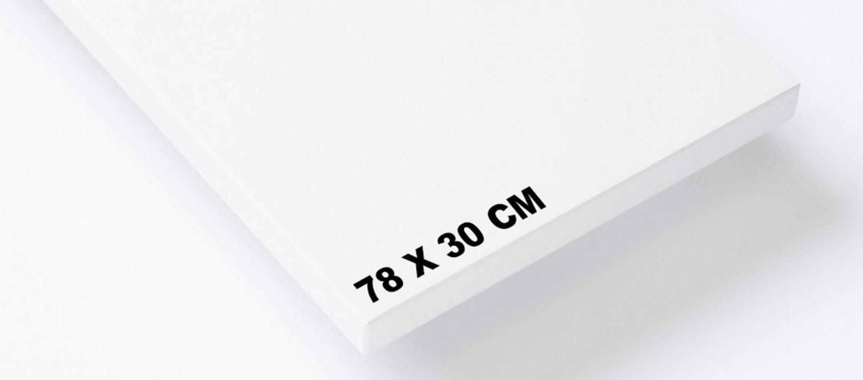 Set de 3 étagères 78x30cm - Système String