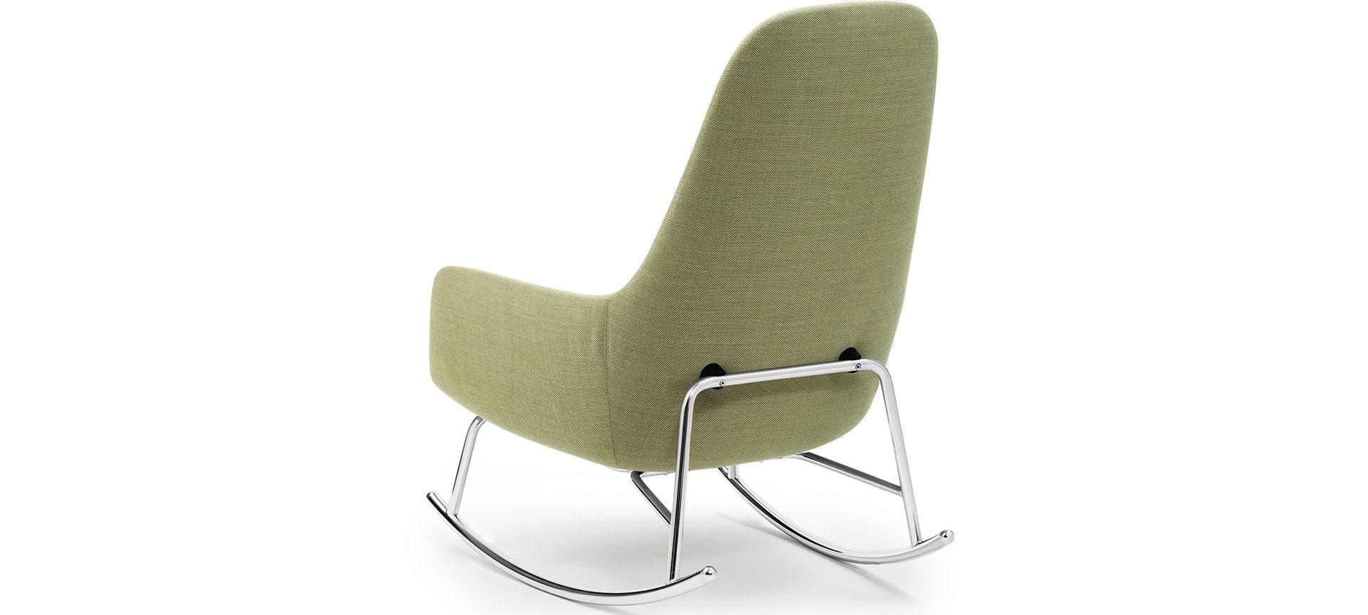 Rocking chair era haut normann copenhagen blou - Rocking chair confortable ...