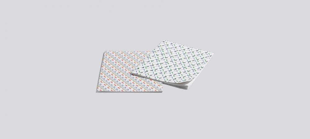 Carnet Line dot notebook Small x2