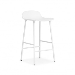 Tabouret de bar Form h65cm Pieds Metal