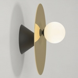 Applique Disc and sphere Asymmetrical