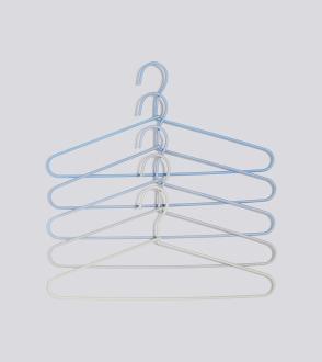 Set de 5 Cintres Cord Hanger Fade
