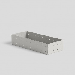 Punched organizer Pen tray