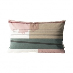 Coussin Colour Block - 40x25 - S1