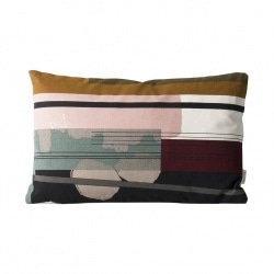 Coussin Colour Block - 40x25 - S2