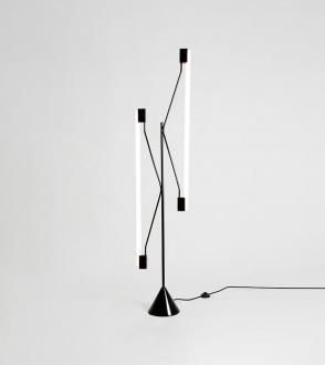 Lampadaire 2 Tubes Floor Lamp