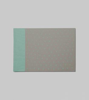 Carnet canvas note print Paysage L