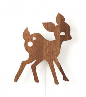 Applique My deer lamp