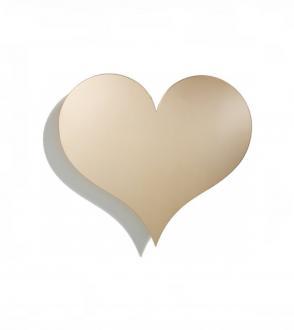 relief mural en forme de coeur / Metal Wall Relief Heart