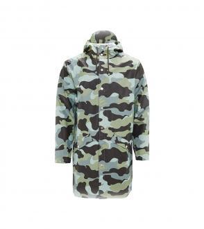 Veste longue de pluie rains / camo - long jacket rains / camo