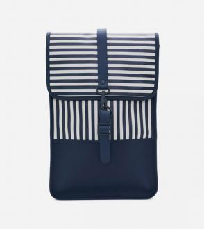 Sac à dos impéreméable rains backpack mini distoted stripes
