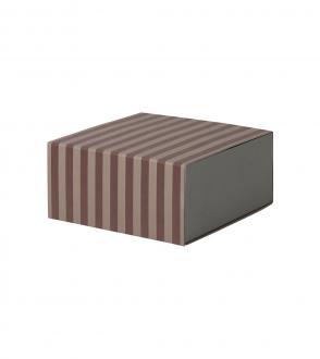 Boite Striped - Cube
