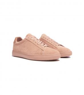 Chaussures Clae Bradley Suede rose - AH18