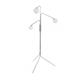 Lampadaire Array - Globe Opal