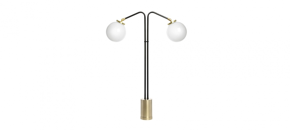 Lampe à poser Array Twin Table - Opal