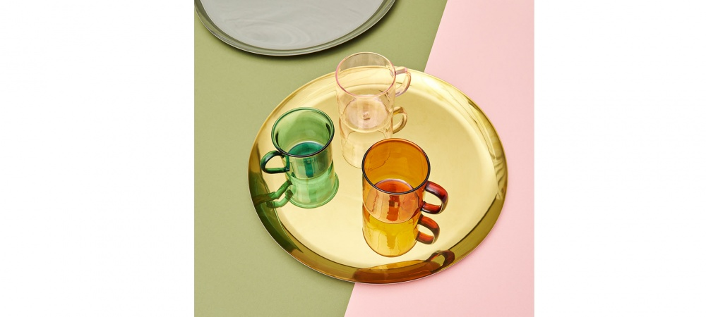 Plateau rond serving tray XL