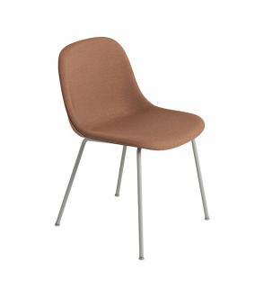 Chaise Fiber - Piètement tubulaire - Entièrement tapissée