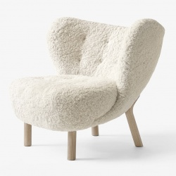 Fauteuil Little Petra Andtradition en laine de mouton VB1