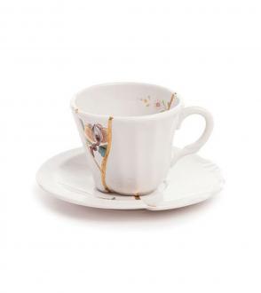 Tasse à café Kintsugi design 1