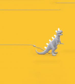 Lampe Jurassic - T-Rex Seletti