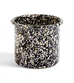 herb pot Enamel Terrazzo