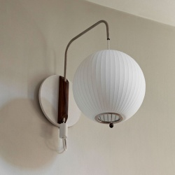 APPLIQUE NELSON BALL WALL SCONCE CABLED