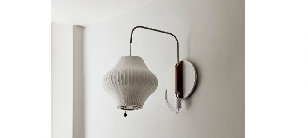 APPLIQUE NELSON PEAR WALL SCONCE CABLED