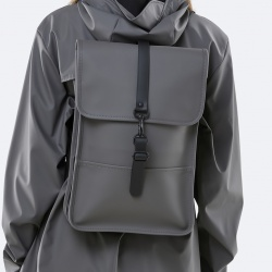 Sac à dos imperméable Rains Backpack Mini bleu