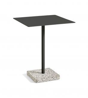 Table carré terrazzo 60 x 60 cm x H74 cm