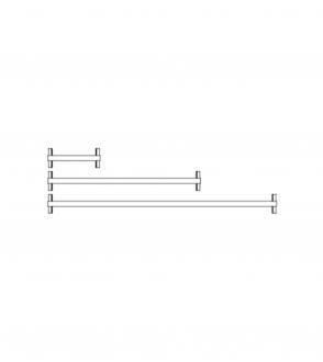 Étagère New Order / middle shelf / à l'unité 34cm / 100cm / 150cm