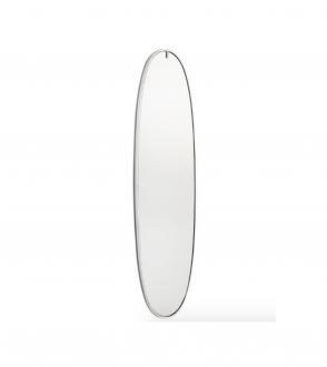 Miroir Lumineux La plus belle - Aluminium Poli - Blou