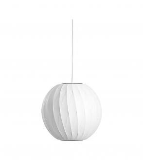 Suspension nelson ball crisscross bubble pendant
