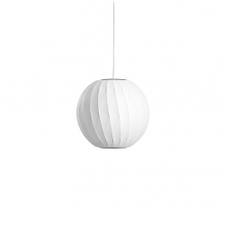 Suspension nelson ball crisscross bubble pendant
