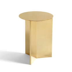 Table basse Slit table Ronde version haute