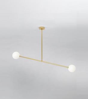 Plafonnier deux spheres Atelier Areti