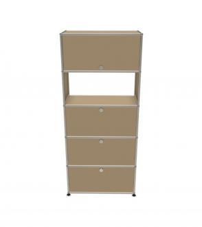 USM Haller meuble secrétaire 5 modules 75 x 35 x h175 cm