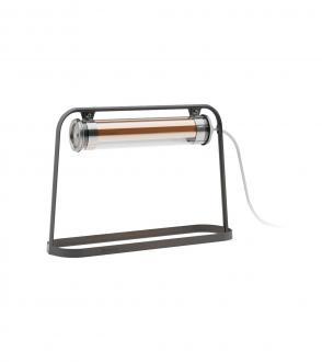 Lampe à poser Astrup - Base Coal - Sammode - Blou - Blanc / Laiton