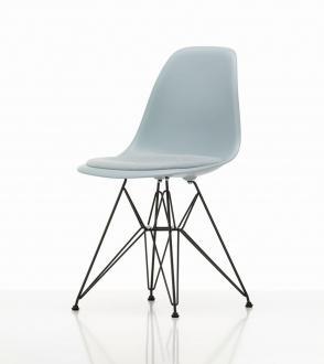 Chaise DSR Eames - Assise tapissée