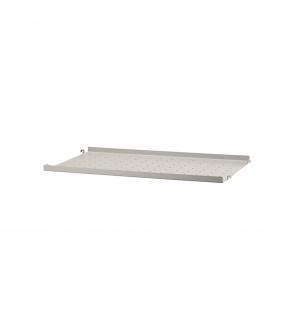 Etagères petit rebord low edge métal 58x30 à l'unité - Système String