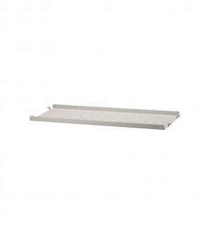 Etagère low edge métal 58x20 à l'unité