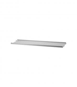 Etagère low edge métal 78x20 à l'unité - Système String