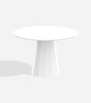 Table ronde Ankara - L - Marbre Carrare/Marquina