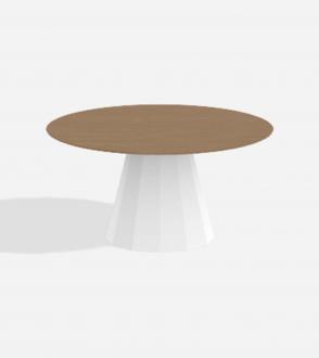Table ronde Ankara - XL - Plateau Chêne