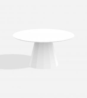 Table ronde Ankara - XL - Marbre Carrare/Marquina