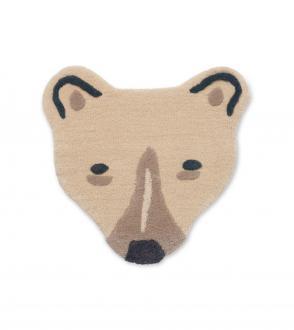 Tapis Tufté tête d'ours
