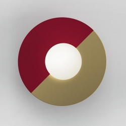 Disc and sphere - Bi color