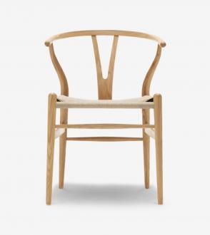Chaise Wishbone CH24