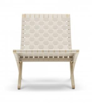 Fauteuil Cuba Chair MG501 - Sangle de coton