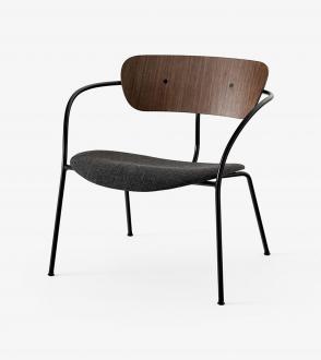 Fauteuil Lounge Pavilion - Assise tapissée - AV6