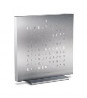 Réveil Qlocktwo Touch 13,5x13,5 cm